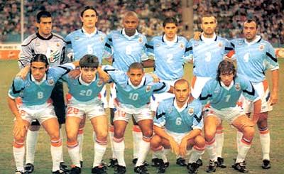 uruguay 1997 confederaciones
