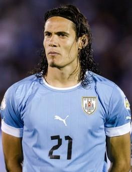 Cavani es el segundo goleador histórico de Uruguay.