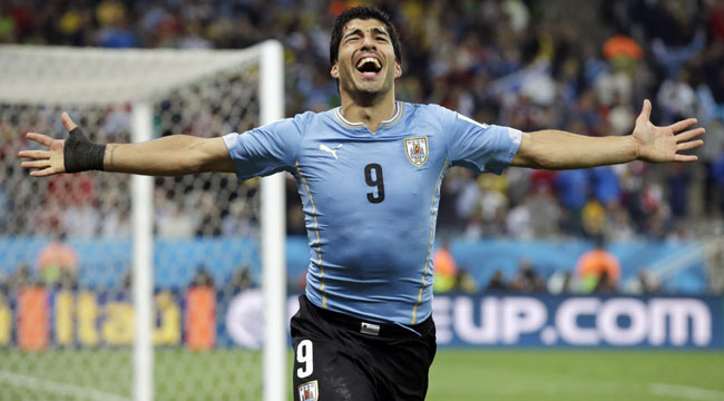 Suárez es el máximo goleador en la historia de Uruguay.